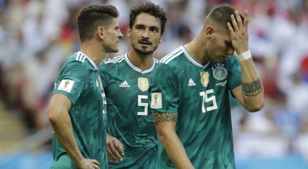 Germany's World Cup exit has posed a number of questions (Credit: Michael Probst/AP).