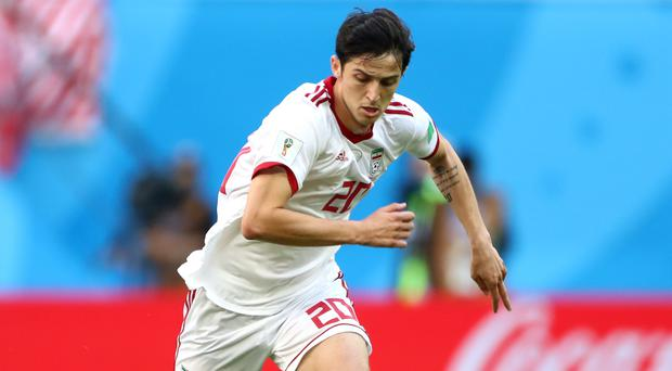 Sardar Azmoun is walking away from international football (Tim Goode/EMPICS)