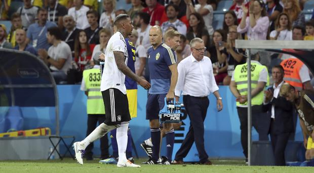 "Germany's Jerome Boateng admits their World Cup campaign was a ""disaster"" (AP)"