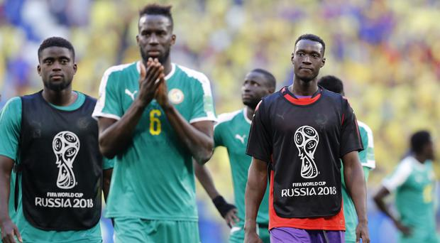 Senegal crashed out of the World Cup due to their inferior fair play points (Efrem Lukatsky/AP/PA)