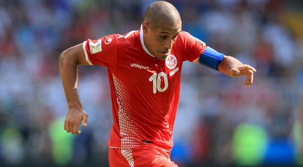 Tunisia's Wahbi Khazri scored the winner in their 2-1 World Cup victory against Panama (Adam Davy/Empics)