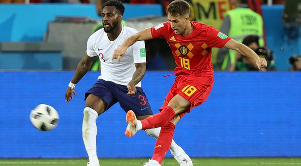 Adnan Januzaj netted the winner against England (Aaron Chown/PA)
