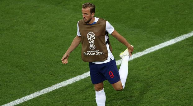Harry Kane was not risked against Belgium (Tim Goode/PA)