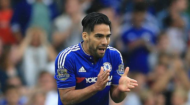 England expect a different Radamel Falcao to the one who flopped in the Premier League (Nigel French/PA)
