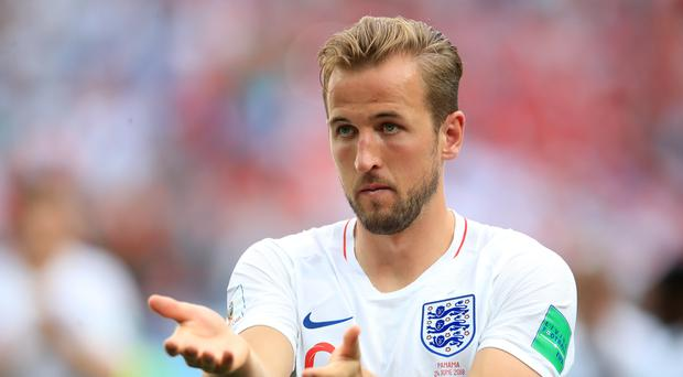 England are banking on the goals of Harry Kane to make World Cup progress at Colombia's expense (Adam Davy/PA)