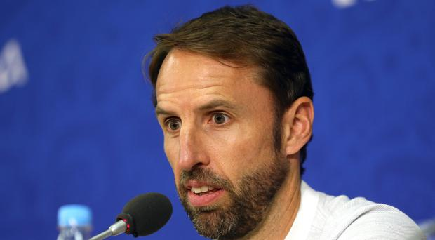 Gareth Southgate feels England have an opportunity to write a new World Cup story (Aaron Chown/PA)