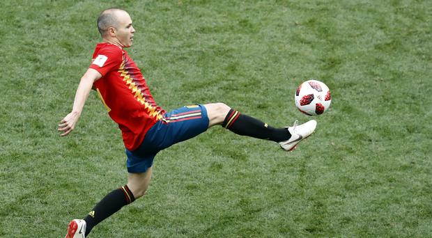Andres Iniesta collected 131 Spain caps before announcing his retirement (AP)