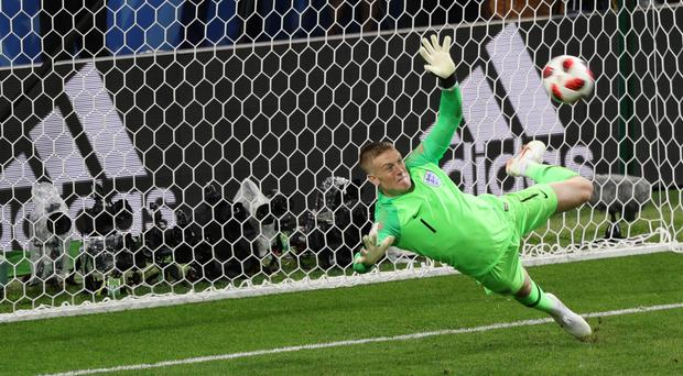 Jordan Pickford was England's hero (PA)