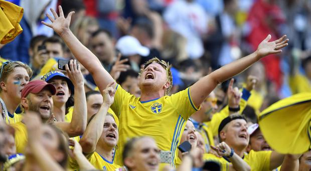 Sweden have battled against the odds to reach the quarter-finals of the World Cup for the first time since 1994 (AP)