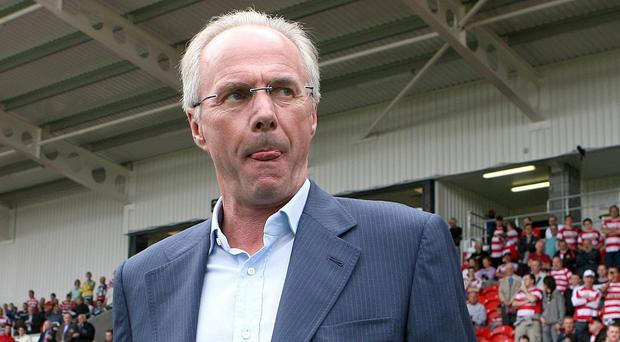 Sven Goran Eriksson was the last manager to take England to a World Cup quarter-final (Martin Rickett/PA)