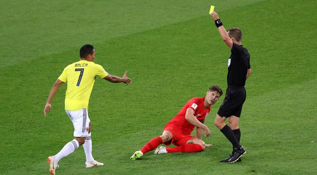 """John Stones branded Colombia """"the dirtiest team"""" he has ever played against (Aaron Chown/PA)"""