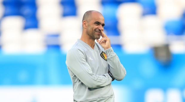Belgium manager Roberto Martinez is preparing for the challenge of Brazil (Adam Davy/PA)