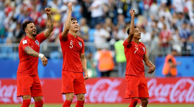 England are into the last four of the World Cup (Tim Goode/PA)