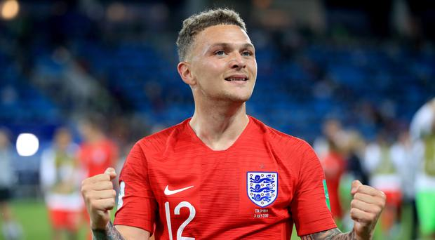 Kieran Trippier has started four of England's five World Cup games in Russia. (Adam Davy/PA)