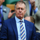 He believes: Geoff Hurst thinks England can lift trophy