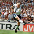 Gascoigne scored a memorable strike against Scotland at Euro 96 (Neil Munns/PA)