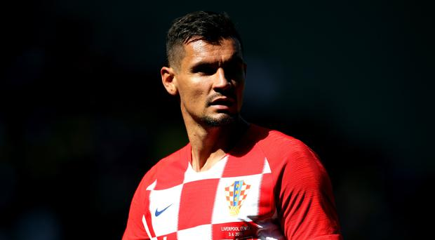 Liverpool's Dejan Lovren plays in defence for Croatia (Nick Potts/PA)