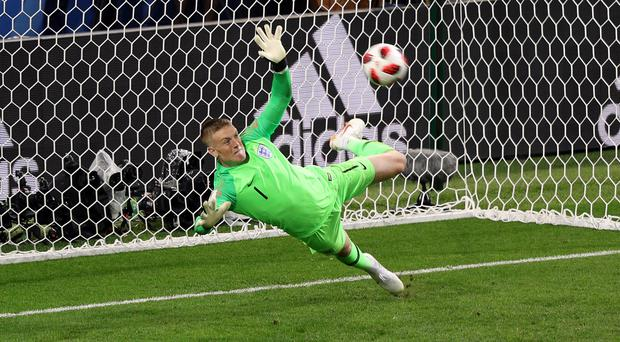 Jordan Pickford has starred for England during the World Cup (Aaron Chown/PA)