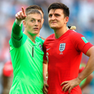 Standout talents: Jordan Pickford and Harry Maguire