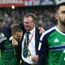 Michael O'Neill's Northern Ireland take on Bosnia on Saturday.