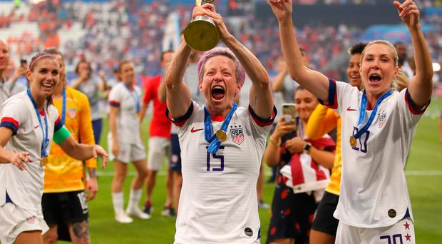 Defending champions: the USA won the 2019 World Cup