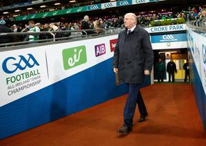 Passionate plea: GAA president John Horan wants attendance figures to be raised