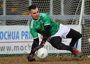 Safe hands: Raymond Galligan and his Cavan team-mates will bid to shock Donegal on Sunday