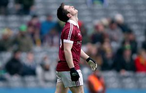 Heartache: A dejected Cormac O'Doherty of Slaughtneil after defeat to Corofin