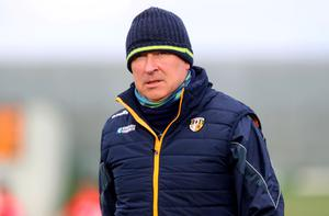 Antrim manager Lenny Harbinson is on the lookout for fresh talent