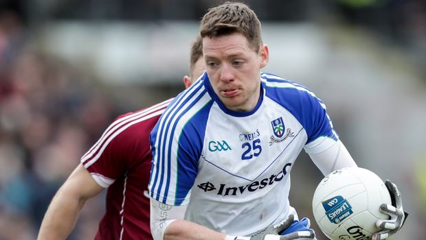Big player: Monaghan's Conor McManus poses a major threat to Tyrone's hopes of victory tomorrow
