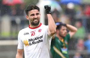 Let off: Tiernan McCann is available for Tyrone's clash against Kerry after his ban was rescinded