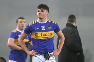 Tipperary's Conal Kennedy dejected at the end of the game