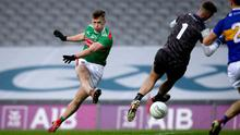 Red hot: Cillian O'Connor can help Mayo defeat the mighty Dublin in the All-Ireland final at Croke Park