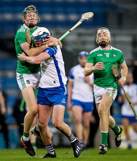 Tough stance: Cynical play surfaced in the Limerick v Waterford All-Ireland final