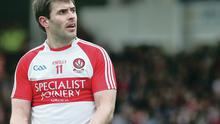 Main man: Mark Lynch has been identified as Derry's biggest attacking threat