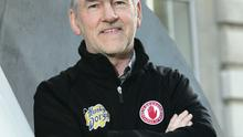 Upper-hand: Mickey Harte has faced Cavan seven times during his tenure as Tyrone boss, winning on six occasions and drawing once