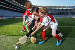 Big ask: youngsters in hurling camp
