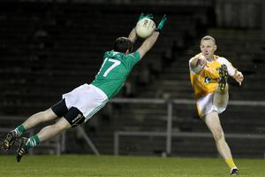 Paddy Cunningham in action for Antrim