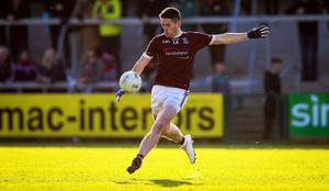 To the four: Jack Grugan hit the Crossmaglen net four times.