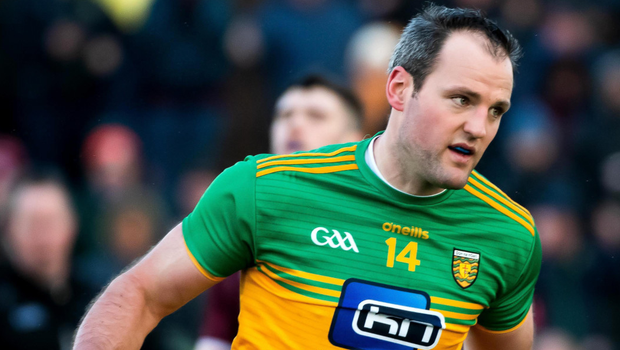 Bang on: Michael Murphy was on target for Donegal