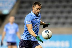 Pointing way: Dean Rock's unerring accuracy can boost Dessie Farrell's side as they strive to capture 'Sam' yet again