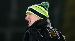Major blow: Declan Bonner wanted the McKenna Cup semi moved as several of his players will be in Sigerson Cup action