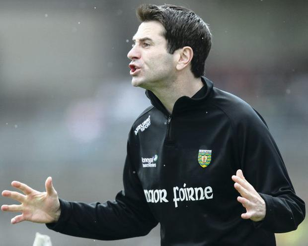 Donegal assistant manager Rory Gallagher