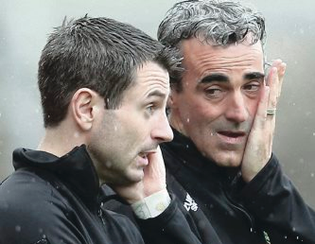 Break up: Rory Gallagher and Jim McGuinness parted company