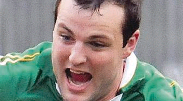 Double hopes: Michael Murphy lines out for Glenswilly today