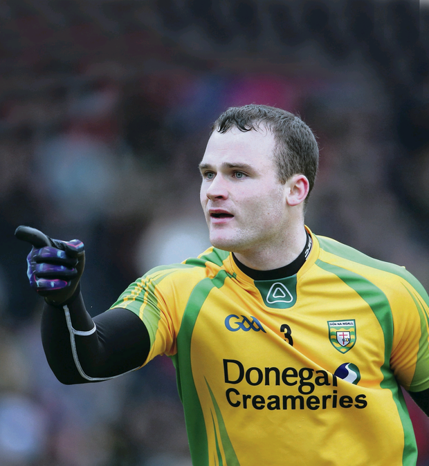 On the up: Neil McGee is confident Donegal have turned the corner after recent struggles