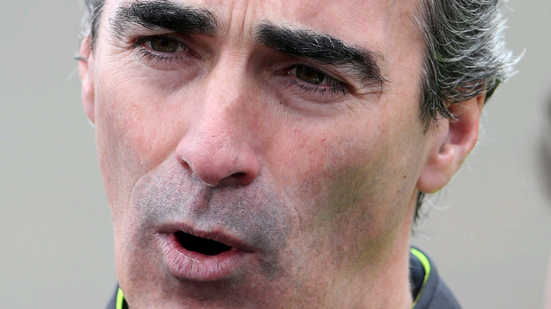 Tactical mind: Jim McGuinness switched his players around