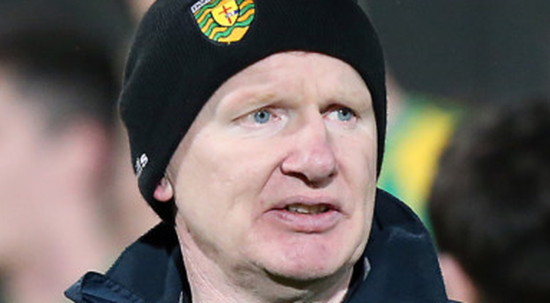 Donegal Under-21 manager Declan Bonner