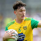 Cloud nine: Donegal's Michael Langan scored nine points