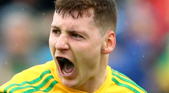 Smash hit: Jamie Brennan's form has inspired Donegal